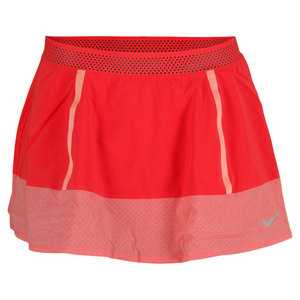NIKE WOMENS PREMIER MARIA SKIRT FUSION RED