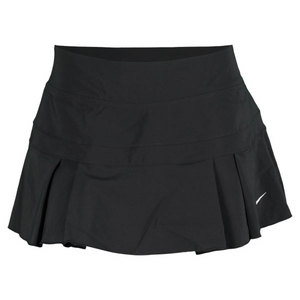 NIKE WOMENS WOVEN PLEATED SKIRT BLACK