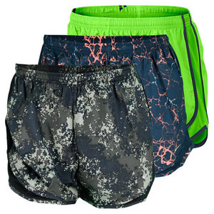 NIKE WOMENS PRINTED TEMPO RUNNING SHORT