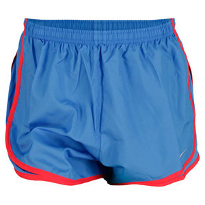 NIKE WOMENS PRINTED TEMPO RUN SHORT FUSION RD