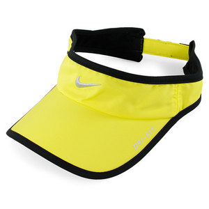NIKE MENS FEATHERLIGHT VISOR SONIC YELLOW