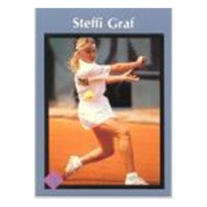 TENNIS EXPRESS Steffi Graf Tuff Stuff Junior Card