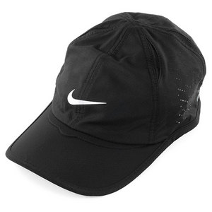 NIKE MENS PERFD FEATHER LIGHT CAP BLACK