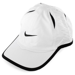 NIKE MENS PERFD FEATHER LIGHT CAP WHITE