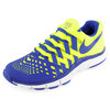 Men`s Free Trainer 5.0 Shoe Yellow and Blue by NIKE