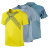 NIKE Boy`s Contemporary Athlete US Open Tennis Top