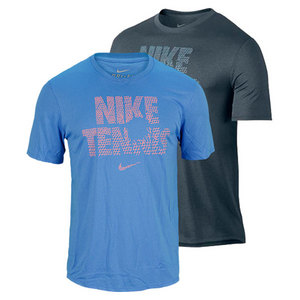 NIKE MENS TENNIS READ LEGEND TEE