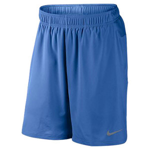 NIKE MENS GLADIATOR 2-IN-1 9 IN SHORT BLUE