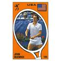 TENNIS EXPRESS John McEnroe Panini Sticker Card