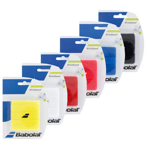 BABOLAT EMBROIDERED LOGO TENNIS WRISTBANDS