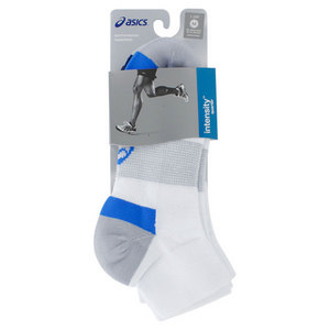ASICS INTENSITY QUARTER SOCKS WHITE