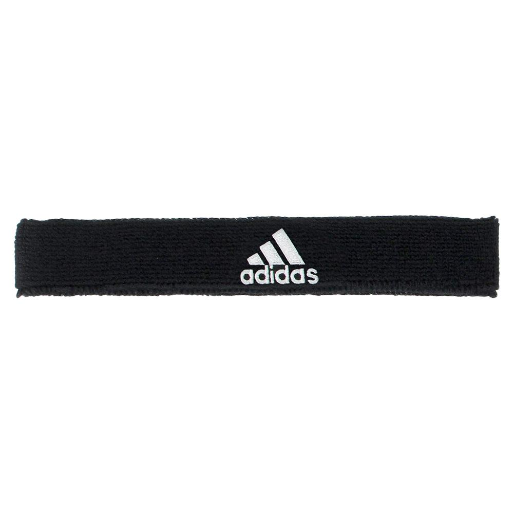 adidas Interval Slim Tennis Headband Black and White b4a3958a770