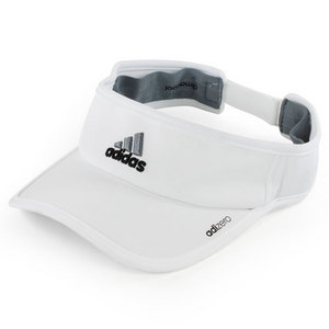 Men`s Adizero II Tennis Visor White
