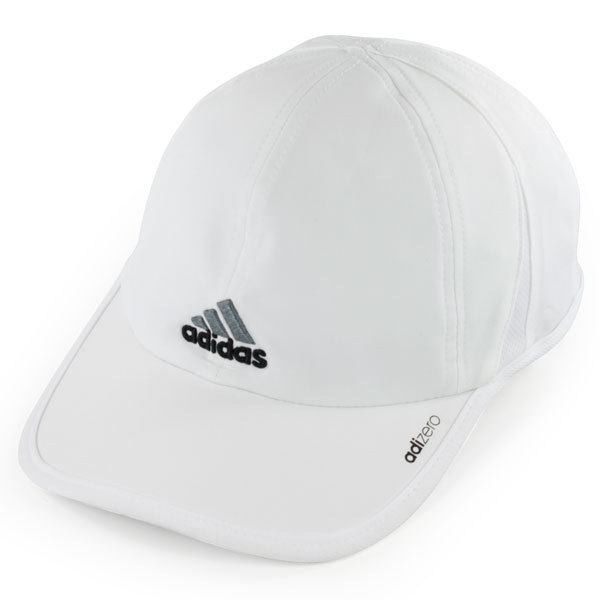 Men's Adizero Ii Tennis Cap White And Black