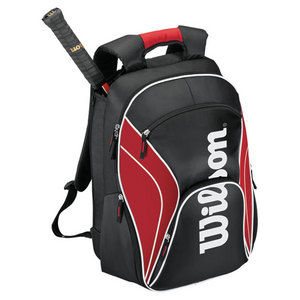 WILSON FEDERER TENNIS BACKPACK RED/BLACK