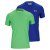 UNDER ARMOUR Men`s Coldblack Short Sleeve Tennis Tee