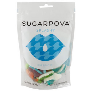 SUGARPOVA SPLASHY AQUATIC MIX GUMMIES
