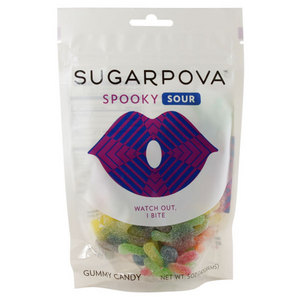 SUGARPOVA SPOOKY SOUR SPIDER GUMMIES