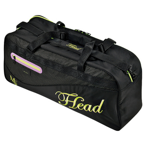 HEAD SHARAPOVA COURT TENNIS BAG BLACK