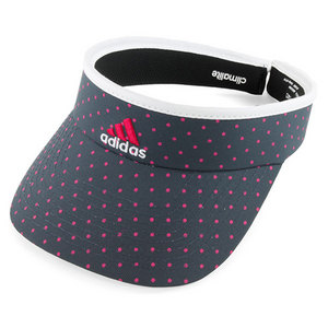 adidas WOMENS MATCH TENNIS VISOR DARK ONIX/PINK