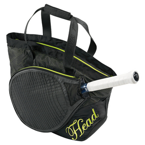 HEAD WOMENS TENNIS CLUB BAG BLACK