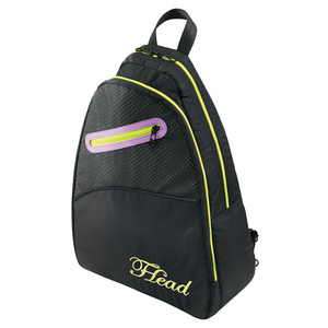 HEAD WOMENS TENNIS SLING PACK BLACK
