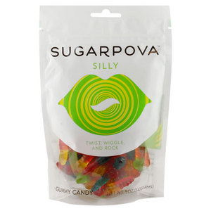 SUGARPOVA SILLY WORM GUMMIES