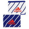 ADIDAS Small Tennis Wristband White and Navy Stripe