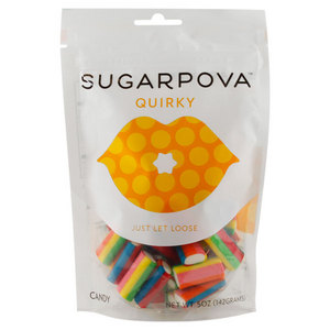 SUGARPOVA QUIRKY STRAWBERRY-VANILLA SOFT CHEWS