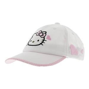 HELLO KITTY TENNIS LOVE HAT WHITE