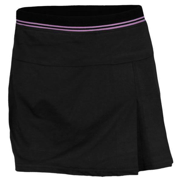 Women's Ultra Violet Tennis Skort Black