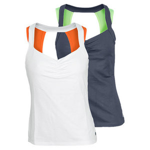LIJA WOMENS MAZE OPEN BACK TENNIS TANK