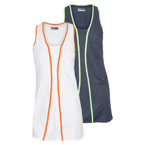 LIJA WOMENS MAZE BOUND TENNIS DRESS