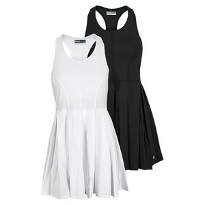 LIJA WOMENS BOX PLEAT TENNIS DRESS