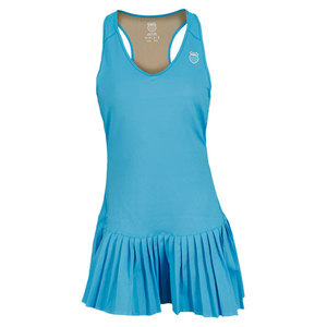 K-SWISS WOMENS SMASH IT TENNIS DRESS BLUE