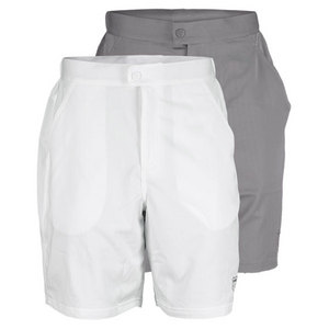 K-SWISS MENS STRETCH STRIPE TENNIS SHORT