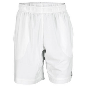 K-SWISS MENS TRAINING WOVEN SHORT WHITE
