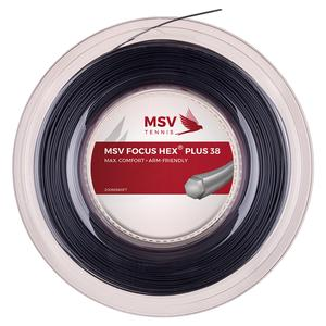 MAUVE SPORTS MSV FOCUS HEX +38 125 REEL STRING BLACK