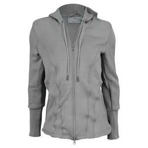 adidas WOMENS STELLA MCCARTNEY BARR HOODIE GRAY