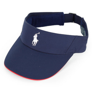 POLO RALPH LAUREN MENS PERFORMANCE STRETCH VISOR NAVY