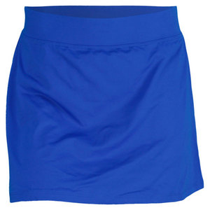 POLO RALPH LAUREN WOMENS DOUBLE LAYER TENNIS SKORT BLUE