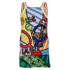 LUCKY IN LOVE Girls` Tennis Pop Dress Print
