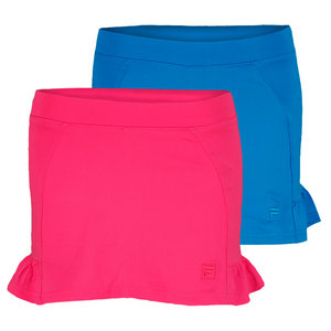 FILA GIRLS RUFFLED TENNIS SKORT