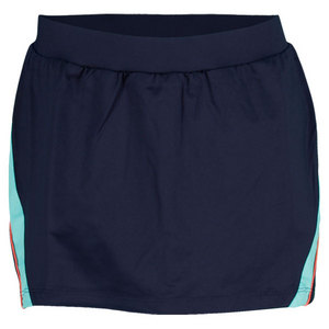 TAIL WOMENS SUMMER LOVIN FLEUR SKORT NAVY