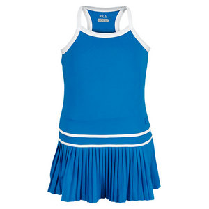 FILA GIRLS MATCH TENNIS DRESS BLUE