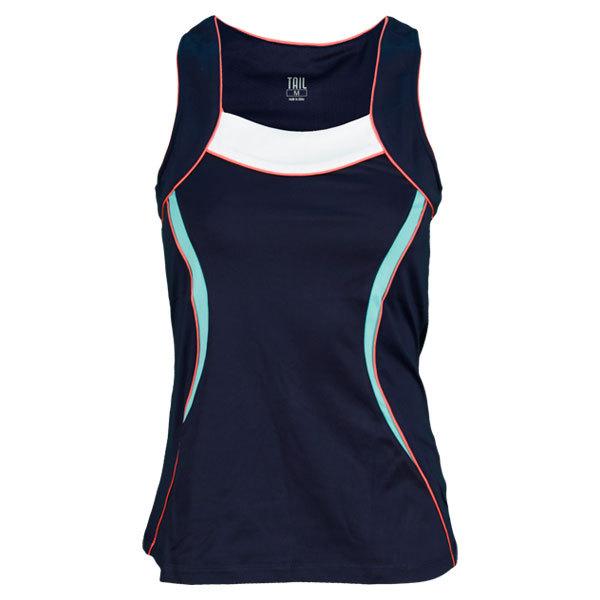 Women's Summer Lovin Lea Tennis Tank Navy