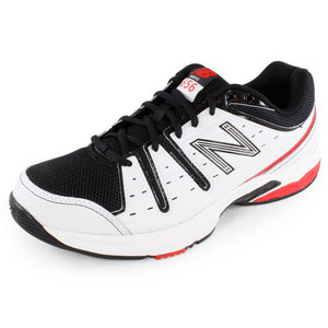 NEW BALANCE MENS 656 D WIDTH SHOES WHITE/BLACK/RED