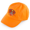 Women`s Crossed Racquets Tennis Cap Neon Orange by LOVEALL