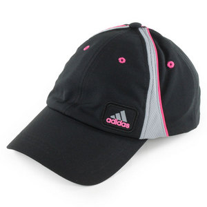adidas WOMENS ATHLETE TENNIS CAP BLACK/BLOOM