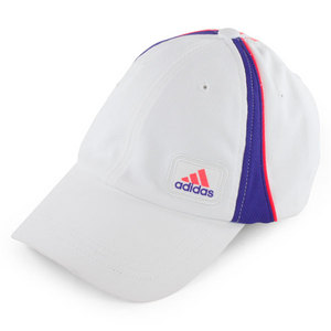 adidas WOMENS ATHLETE TENNIS CAP WHITE/PURPLE